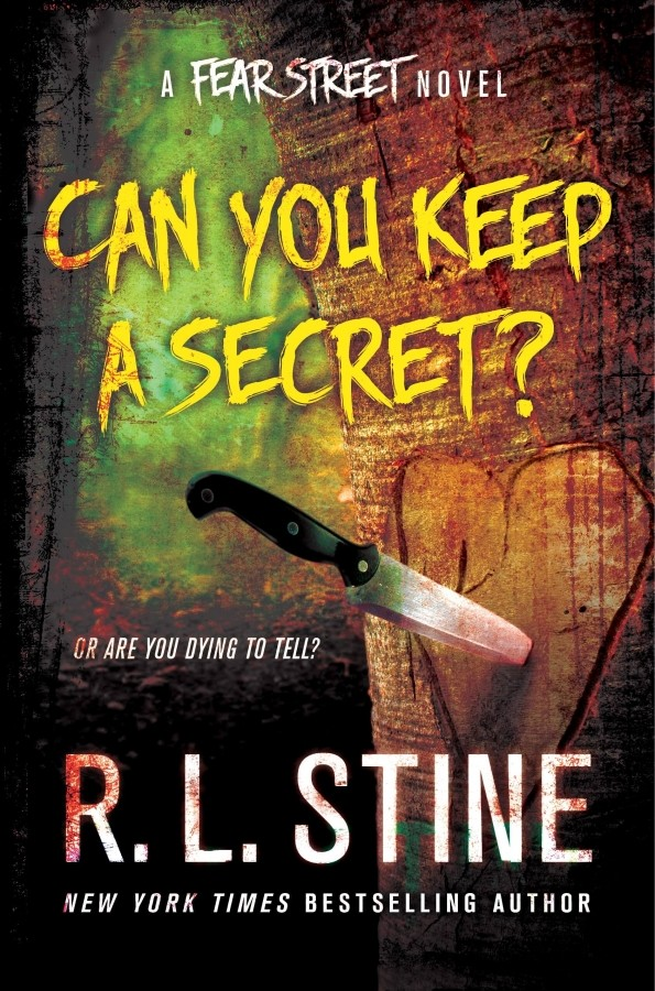 Giveaway: Can You Keep a Secret by RL Stine (US Only)