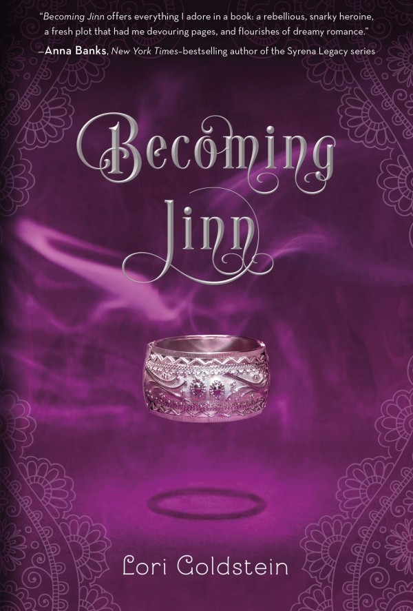 Excerpt and Giveaway: Becoming Jinn by Lori Goldstein (US Only)