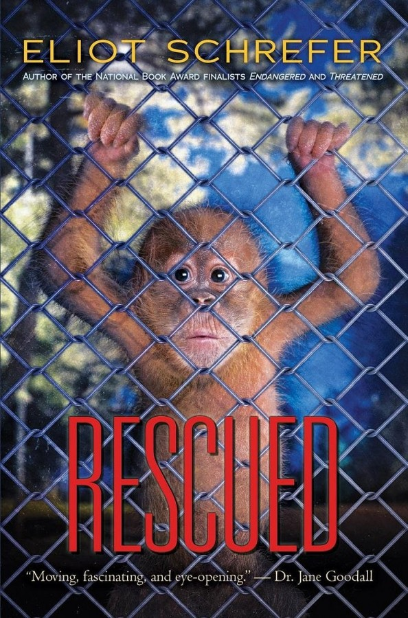Featured Review: Rescued (Ape Quartet #3) by Eliot Schrefer
