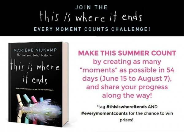 Press Release: Every Moment Counts Challenge