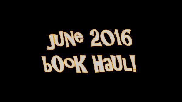 June Book Haul!