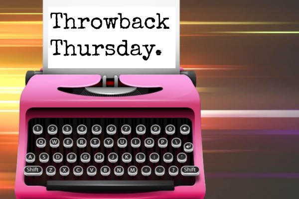 Throwback Thursday: The Book That Keeps Giving