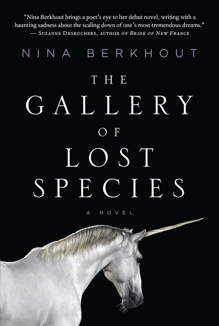 Author Chat with Nina Berkhout, (The Gallery of Lost Species), + Plus Giveaway!