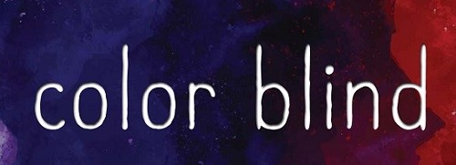 It's Live!! Cover Reveal: Color Blind by Sheila Sobel + Giveaway (US/Canada)
