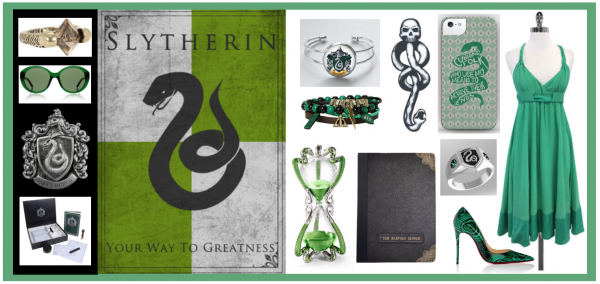 Through the Pensieve: YABC & the Month of Harry Potter ~ Gifts for Slytherin!!