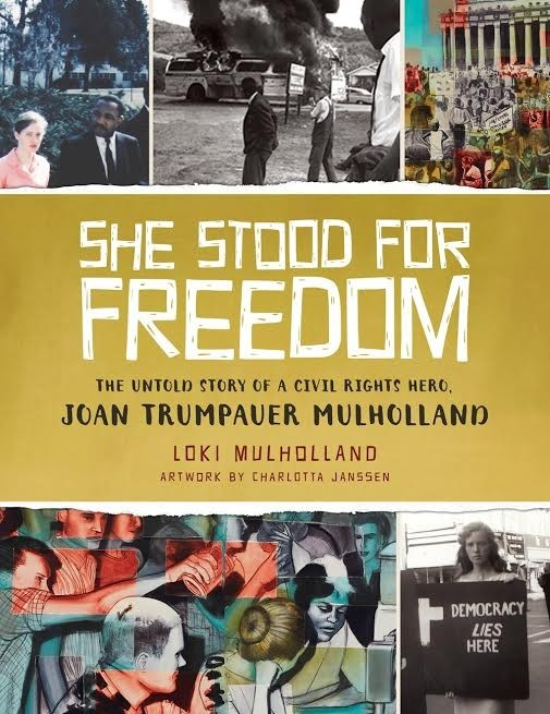Chat with Joan Trumpauer Mulholland (She Stood For Freedom), Plus Giveaway!