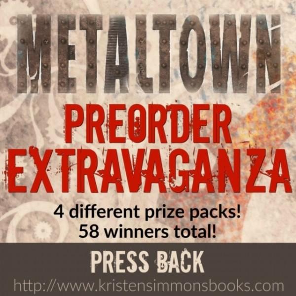 METALTOWN Pre-Order PRIZES!