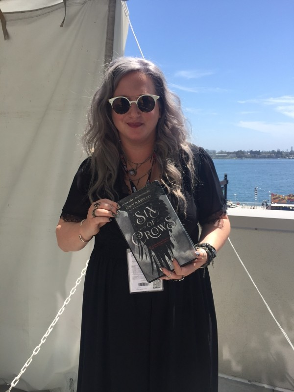 San Diego Comic Con Interview with Leigh Bardugo, Author of Crooked Kingdom!!!!!