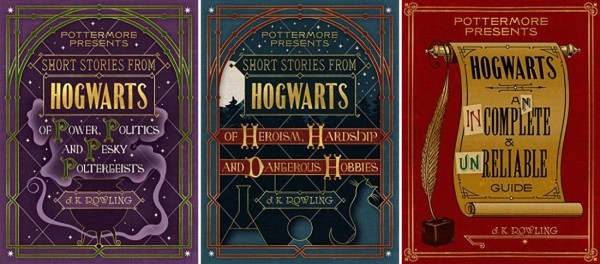 Press Release: Three New Harry Potter Books