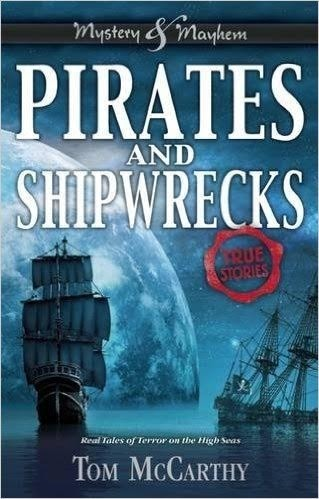 Spotlight on Pirates & Shipwrecks and Survival (Tom McCarthy), First Chapter Reveal, & Giveaway!!