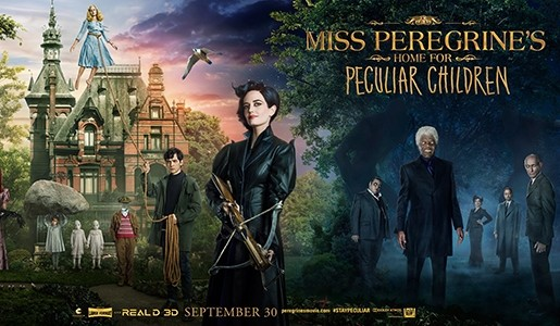 MISS PEREGRINE'S HOME FOR PECULIAR CHILDREN - Drive Through Movie Review