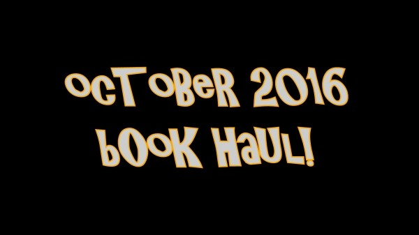 YABC October Book Haul