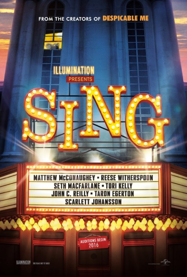 Press Release & Movie Trailer: SING
