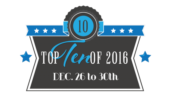 Top Ten Of 2016: Best Book Boyfriends/Girlfriends of 2016