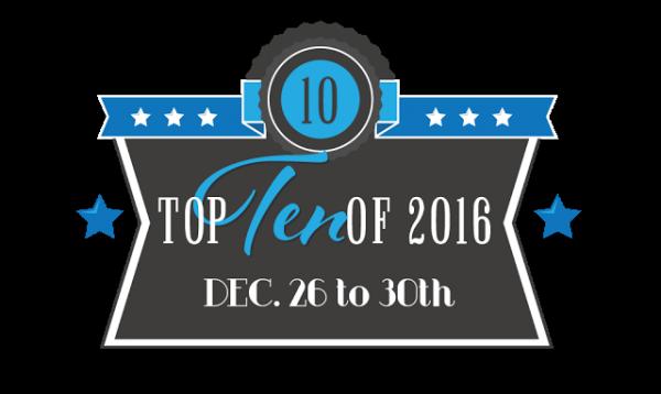 Top Ten Of 2016: Top Ten Books I'm Looking Forward To In 2017!