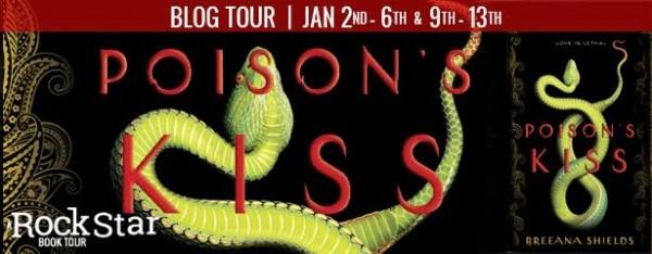 Rockstar Book Tours Blog Tour, Review, & Giveaway: Poison's Kiss (Breeana Shields)
