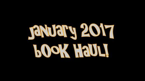YABC January 2017 Book Haul