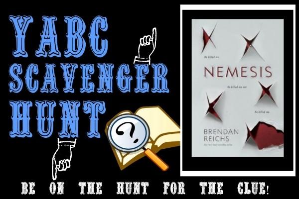 YABC Scavenger Hunt: Nemesis, Plus Brendan Reichs' Character Playlist, Excerpt, and Extra Giveaway!