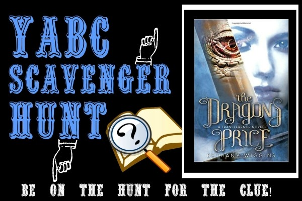 YABC Scavenger Hunt: The Dragon's Price, Plus Author Chat with Bethany Wiggins, and Extra Giveaway!