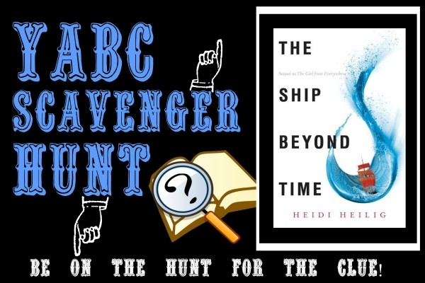 """YABC Scavenger Hunt: The Ship Beyond Time, Plus Heidi Heilig's Article """"Diving into Research,"""" and Extra Giveaway!"""