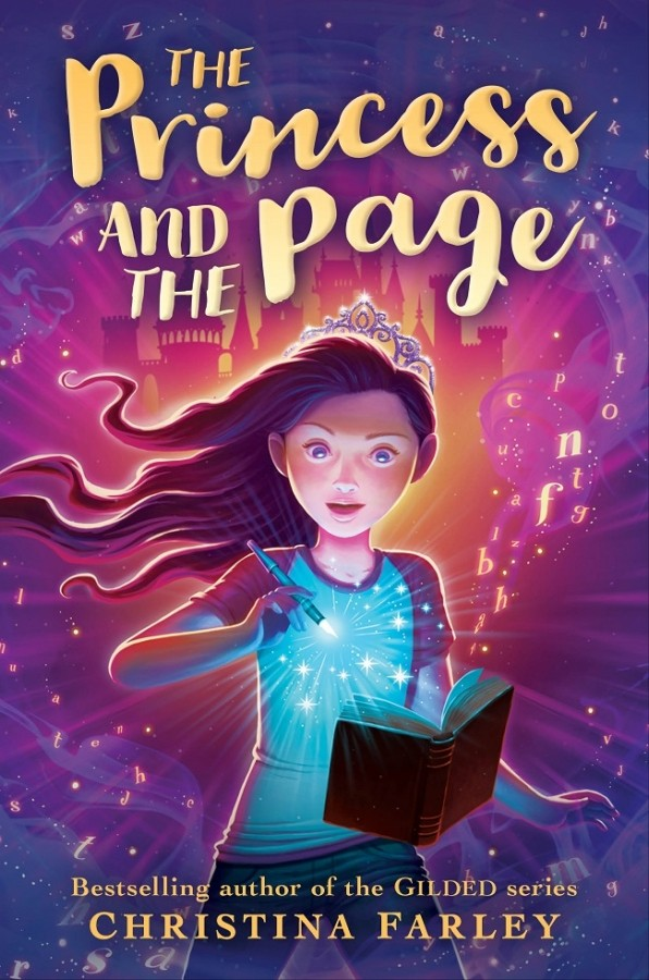 It's Live!! Book Trailer Reveal: The Princess and the Page by Christina Farley + Giveaway