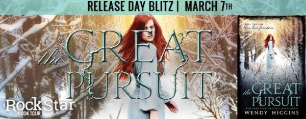 Rockstar Book Tours Release Day Blitz, First Chapter Reveal & Giveaway: The Great Pursuit (Wendy Higgins)
