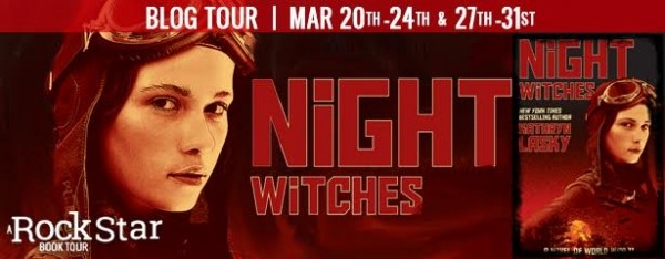 Rockstar Book Tours Blog Tour, Interview, and Giveaway: Night Witches (Kathryn Lasky)
