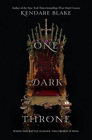 Press Release & Exclusive Excerpt: One Dark Throne (Kendare Blake)