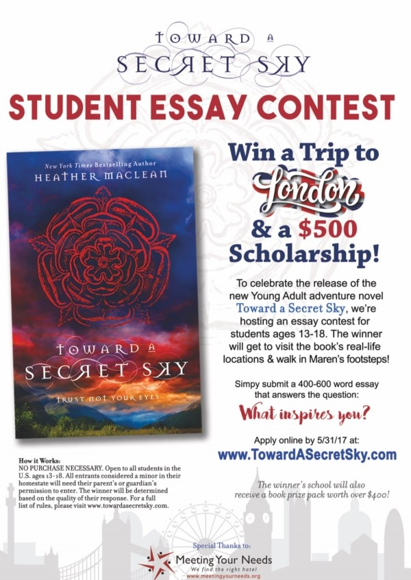 Press Release: Toward A Secret Sky Student Essay Contest!