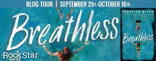 Rockstar Book Tours, Excerpt, & Giveaway: Breathless (Jennifer Niven) ~ (US Only)