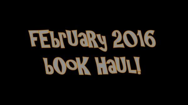 YABC Book Haul - February 2016