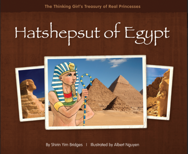 Multicultural Children's Book Day--Featured Book Review--Hatshepsut of Egypt
