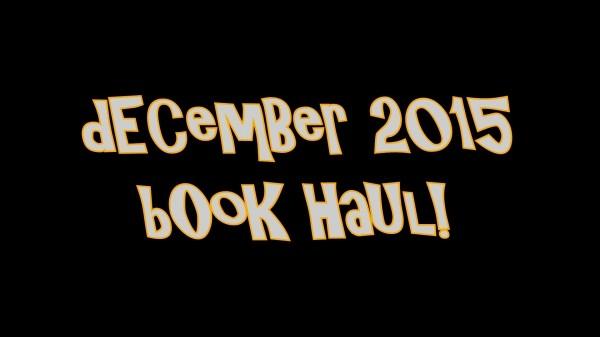 YABC Book Haul - December 2105