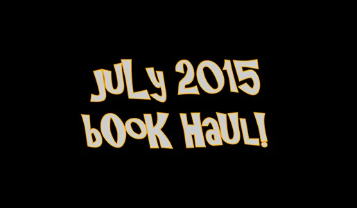 YABC Book Haul - July 2015