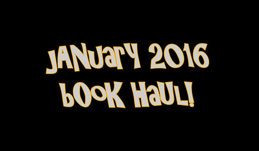 YABC January 2016 Book Haul