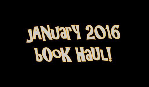 YABC January 2016 Book Haul