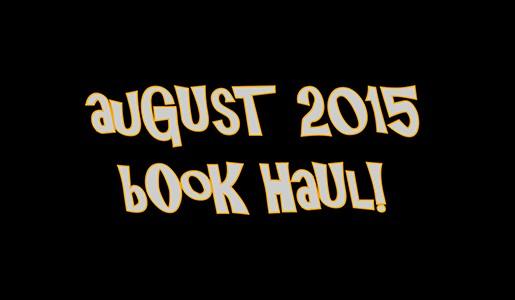 YABC August Book Haul