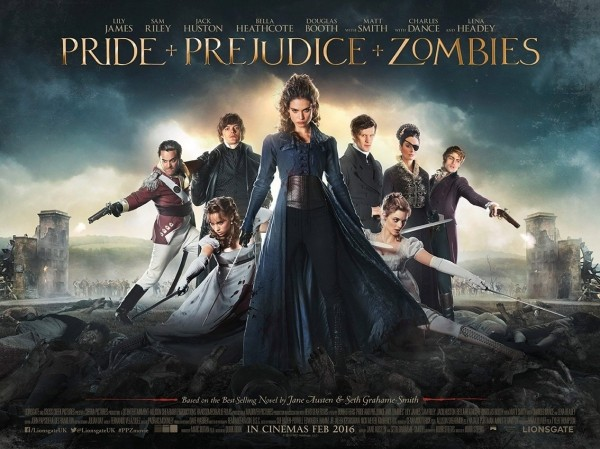 Pride and Prejudice and Zombies Trailer Reveal