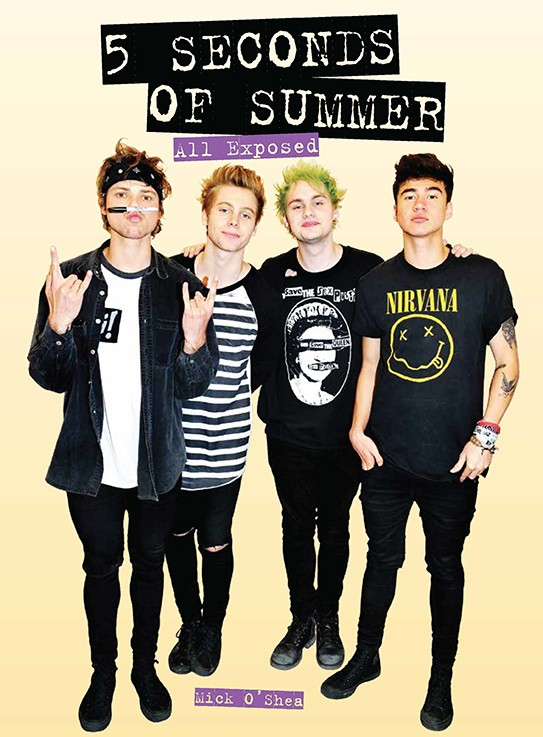 Giveaway: 5 Seconds of Summer: All Exposed by Mick O'Shea (US & Canada Only)