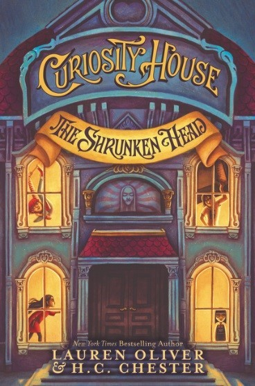 Giveaway: The Shrunken Head by Lauren Oliver & H.C. Chester (US Only)