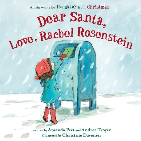 Giveaway: Dear Santa, Love, Rachel Rosenstein (US Only)