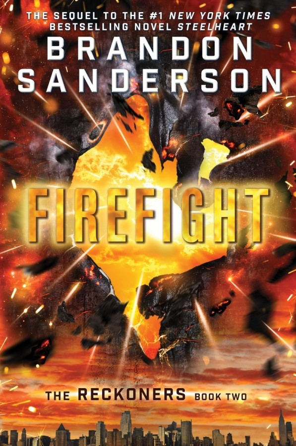 Giveaway: Firefight by Brandon Sanderson (US Only)