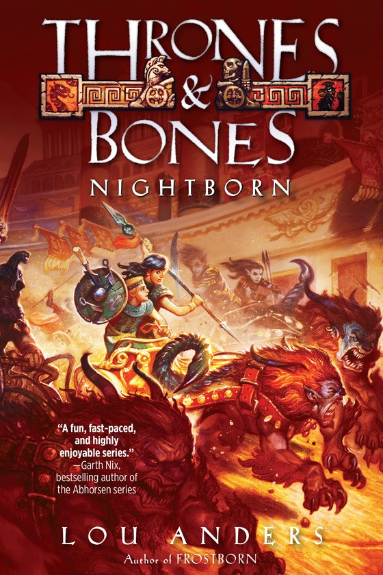 Giveaway: Nightborn by Lou Anders (US Only)