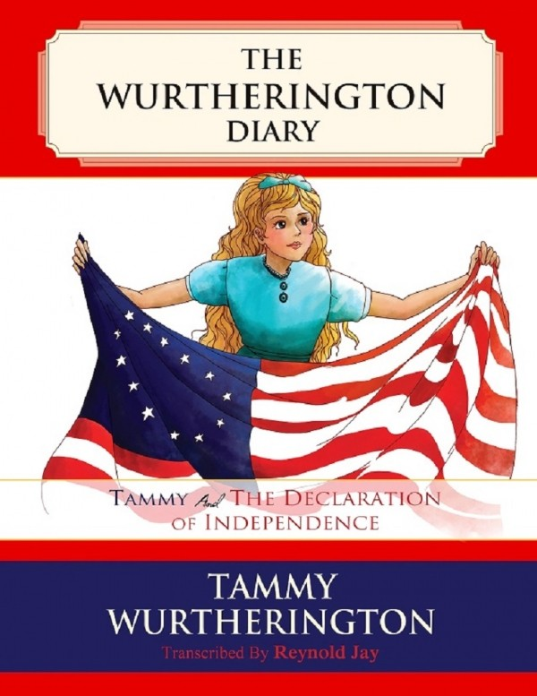 Giveaway: Tammy & the Declaration of Independence (The Wutherington Diaries #2) US Only