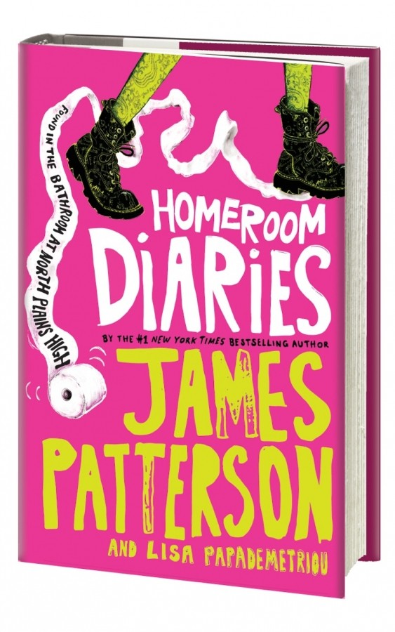 Giveaway: Homeroom Diaries by James Patterson & Lisa Papademetriou (US Only)
