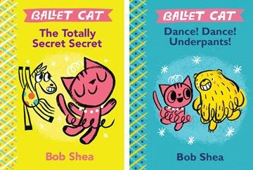 Giveaway: The Ballet Cat Collection by Bob Shea (US only)