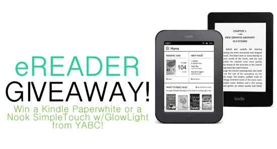 EPIC 10K GIVEAWAY: Win an eReader (and more!) from YABC! (US only)