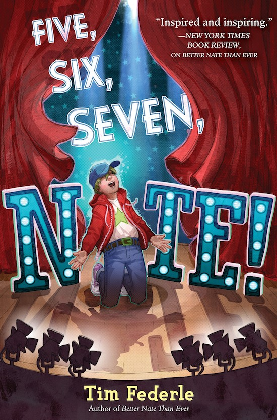 Giveaway: FIVE, SIX, SEVEN, NATE! by Tim Federle (US/Canada)