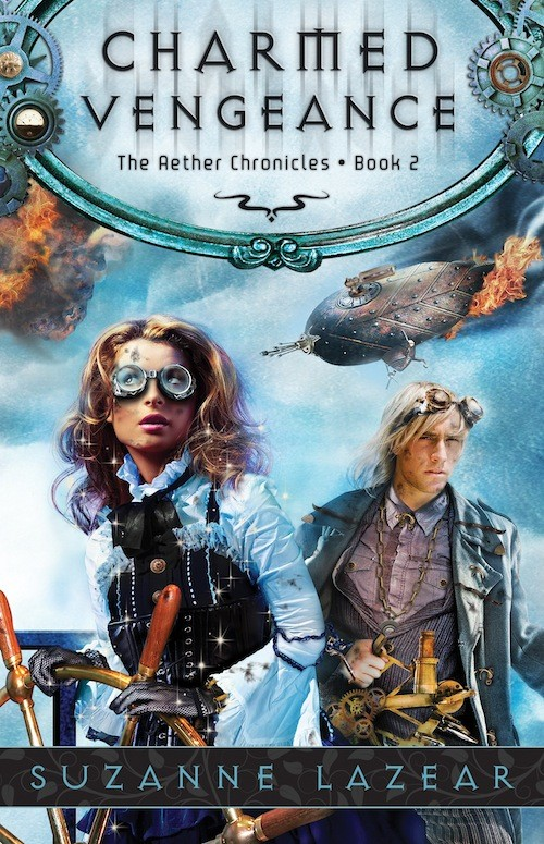 Giveaway: Charmed Vengeance by Suzanne Lazear (International)