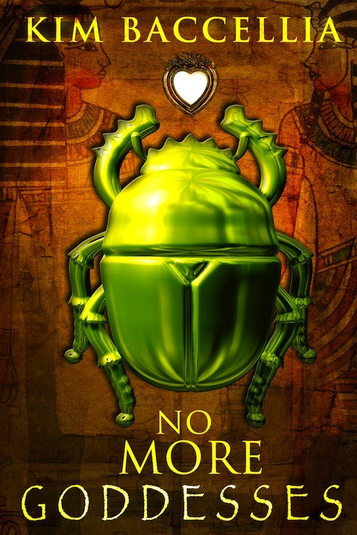 Giveaway: NO MORE GODDESSES by Kim Baccellia (US/Canada)